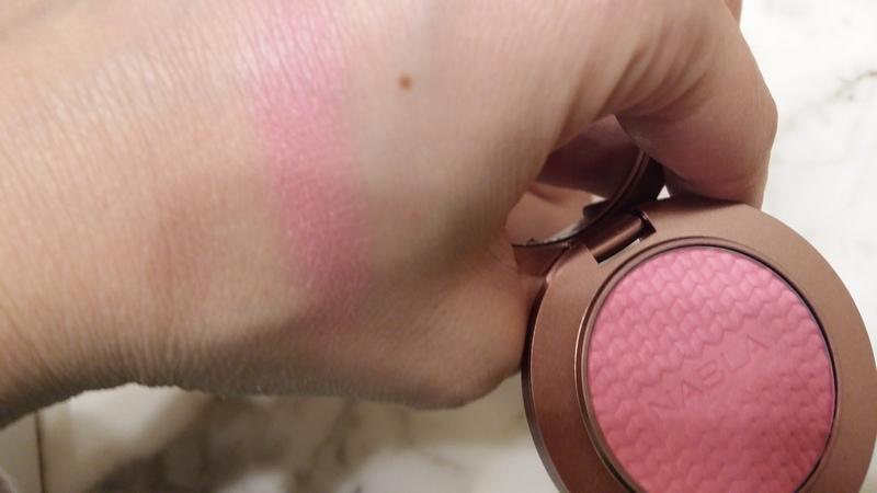 Nabla blossom blush swatch