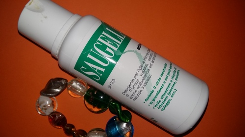 Saugella detergente intimo verde