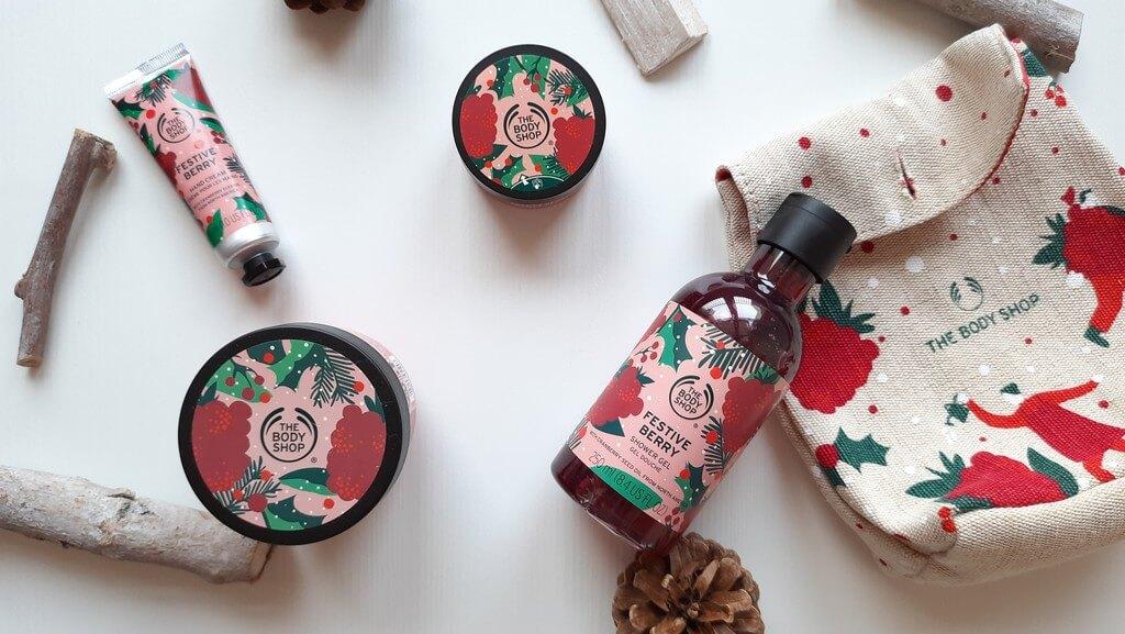 The Body Shop Festive Berry