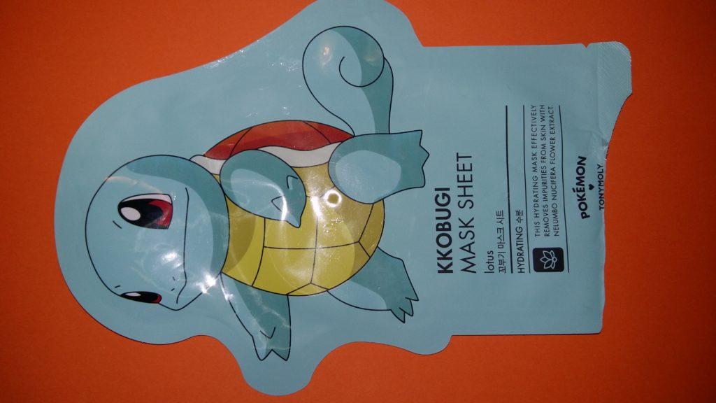 Tonymoly Squirtle maschera