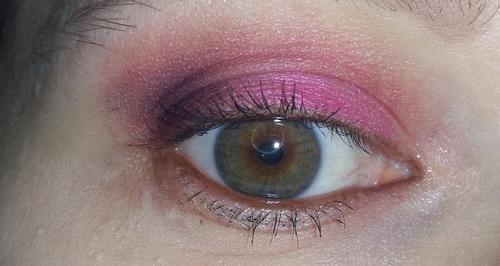 trucco rosa occhio 1