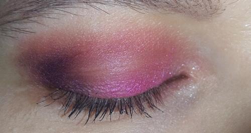 trucco rosa occhio 3