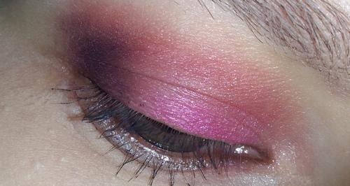 trucco rosa occhio 4