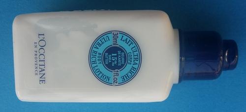L'Occitane: latte corpo ultra ricco al burro di karitè