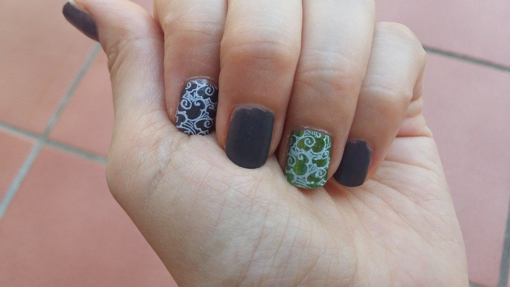 2018-08 nail art stamping cover