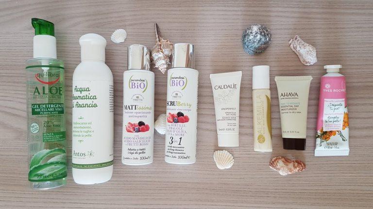 2019-07 Skincare routine