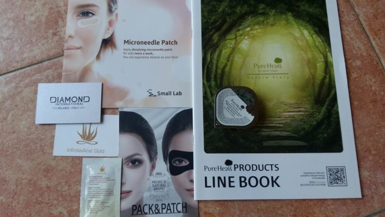 Diamond Small Lab Infinite Aloe Gold Pack & Patch Pure Heals