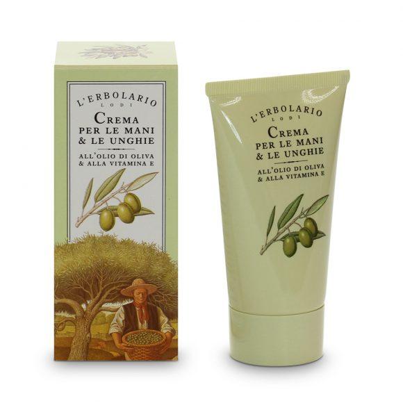 Erbolario crema mani oliva