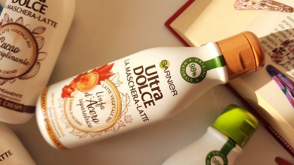 Garnier Ultra dolce maschera latte linfa acero