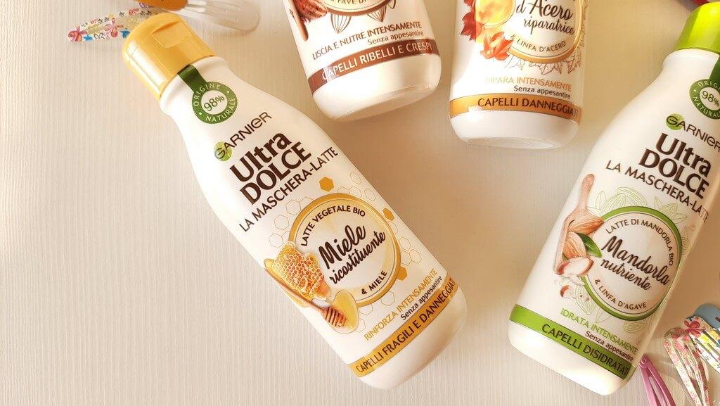 Garnier Ultra dolce maschera latte miele