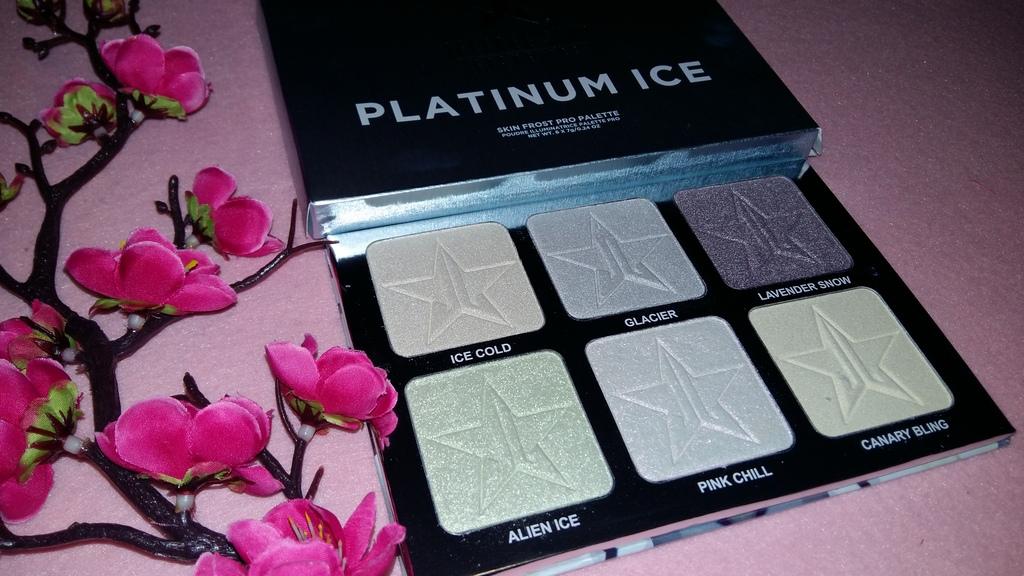 Jeffree Satr Platinum Ice