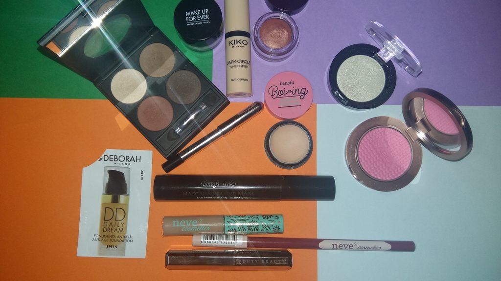 Makeup della settimana dal 22-04-2018 al 28-04-2018