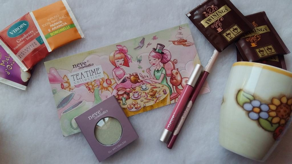 Neve Cosmetics Tea Time