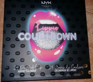 Nyx calendario fronte