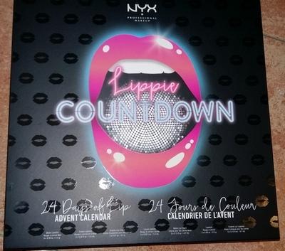 Nyx Calendario Avvento.Nyx Professional Makeup Lippie Countdown Calendario Dell