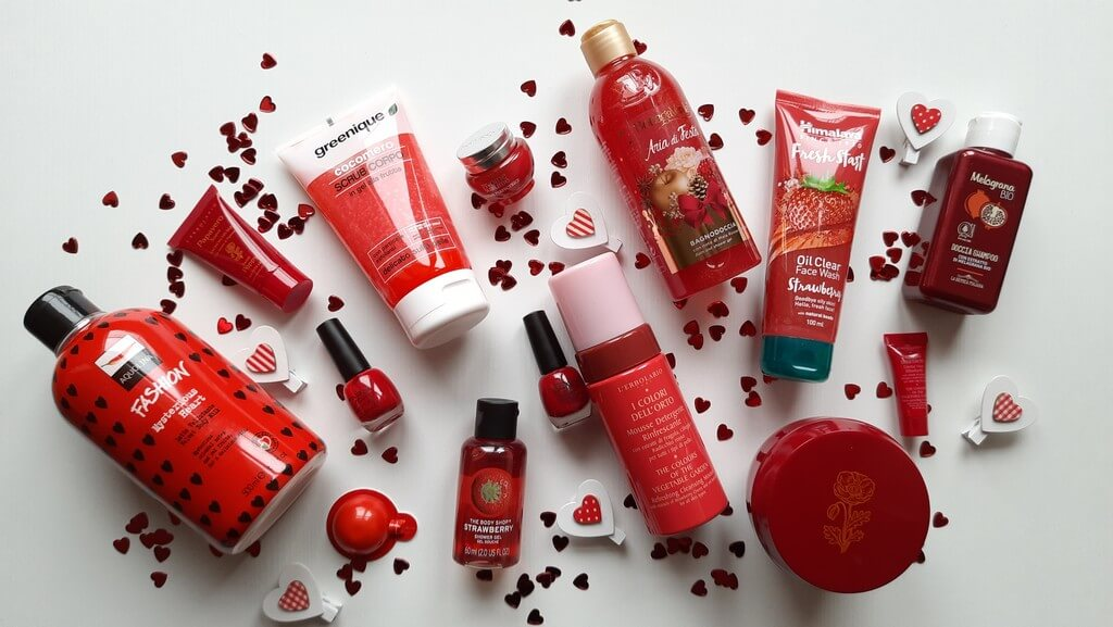 Pack rosso San Valentino