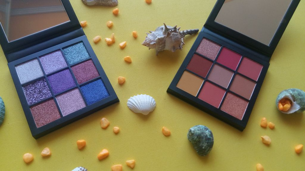 Sephora Huda beauty Obsessions Coral e Gemstone