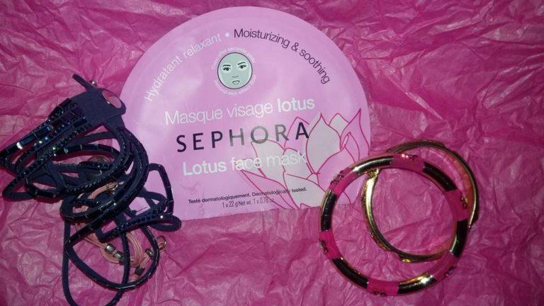 Sephora maschera viso loto