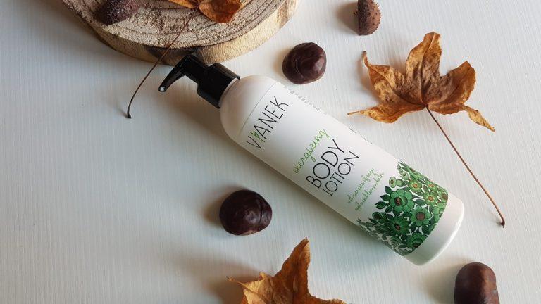 Vianek energizing body lotion cover