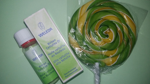 Weleda olio anti cellulite betulla