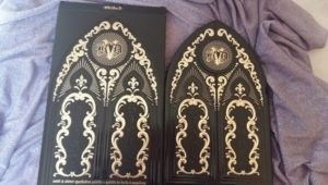 kat Von D saint & sinner palette esterno new