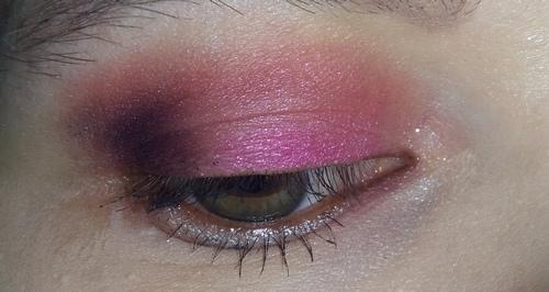 trucco rosa occhio 2