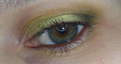trucco verde occhio 1