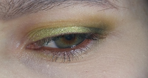trucco verde occhio 5