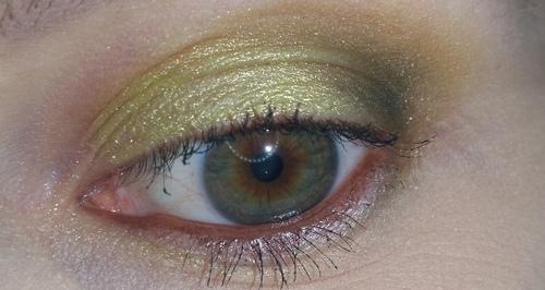 trucco verde occhio 7
